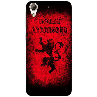 Enhance Your Phone Game Of Thrones GOT House Lannister  Back Cover Case For HTC Desire 626