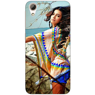Enhance Your Phone Bollywood Superstar Shruti Hassan Back Cover Case For HTC Desire 626