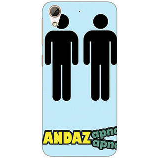 Enhance Your Phone Bollywood Superstar Andaz Apna Apna Back Cover Case For HTC Desire 626