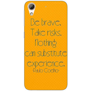 Enhance Your Phone Quote Back Cover Case For HTC Desire 626
