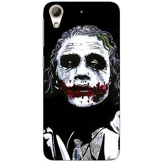 Enhance Your Phone Villain Joker Back Cover Case For HTC Desire 626G