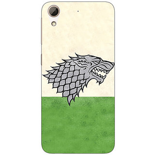 Enhance Your Phone Game Of Thrones GOT House Stark  Back Cover Case For HTC Desire 626G+