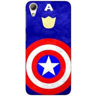 Enhance Your Phone Superheroes Captain America Back Cover Case For HTC Desire 626G