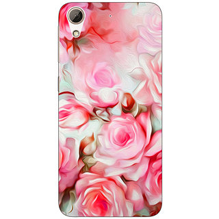 Enhance Your Phone Floral Pattern  Back Cover Case For HTC Desire 626G