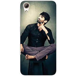 Enhance Your Phone Bollywood Superstar Aditya Roy Kapoor Back Cover Case For HTC Desire 626G
