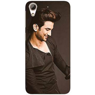 Enhance Your Phone Bollywood Superstar Sushant Singh Rajput Back Cover Case For HTC Desire 626G