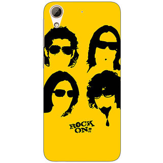 Enhance Your Phone Bollywood Superstar Rock On Back Cover Case For HTC Desire 626