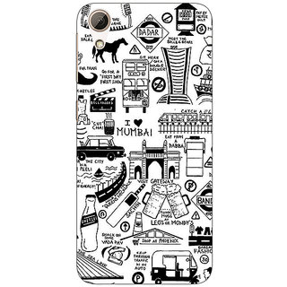 Enhance Your Phone Aamchi Mumbai Back Cover Case For HTC Desire 626G