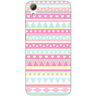 Enhance Your Phone Aztec Girly Tribal Back Cover Case For HTC Desire 626G