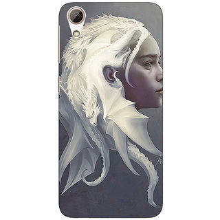 Enhance Your Phone Game Of Thrones GOT House Targaryen  Back Cover Case For HTC Desire 626G+