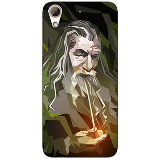 Enhance Your Phone LOTR Hobbit Gandalf Back Cover Case For HTC Desire 626G