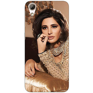 Enhance Your Phone Bollywood Superstar Neha Sharma Back Cover Case For HTC Desire 626G+