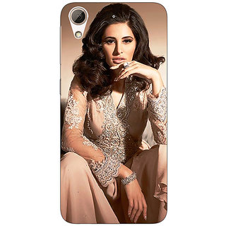 Enhance Your Phone Bollywood Superstar Nargis Fakhri Back Cover Case For HTC Desire 626G+