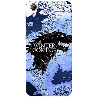 Enhance Your Phone Game Of Thrones GOT House Stark  Back Cover Case For HTC Desire 626G
