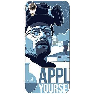 Enhance Your Phone Breaking Bad Heisenberg Back Cover Case For HTC Desire 626G