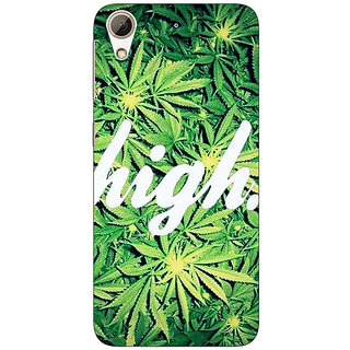 Enhance Your Phone Weed Marijuana Back Cover Case For HTC Desire 626G+