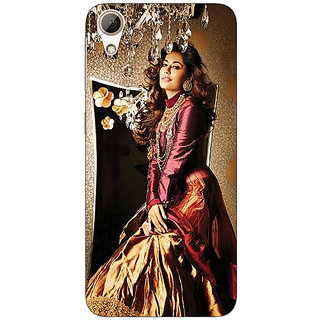Enhance Your Phone Bollywood Superstar Chitrangada Singh Back Cover Case For HTC Desire 626G