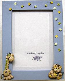 Clay photo frames