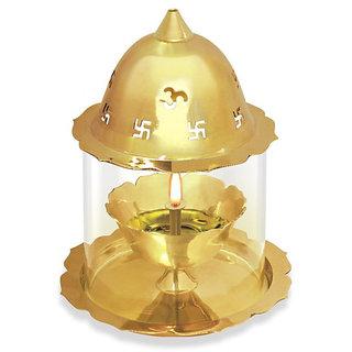Treo Kamal Deep (Akhand Jyot) Ornamental - Gold