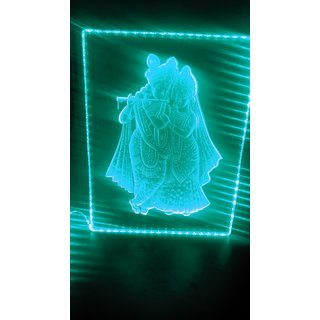 RADHA KRISHNA 3D Memento Acrylic Material
