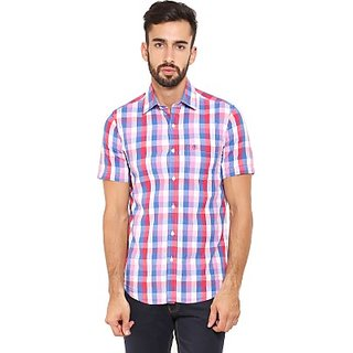 Classic Polo Mens Checkered Casual Shirt