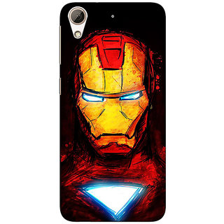 Enhance Your Phone Superheroes Ironman Back Cover Case For HTC Desire 728