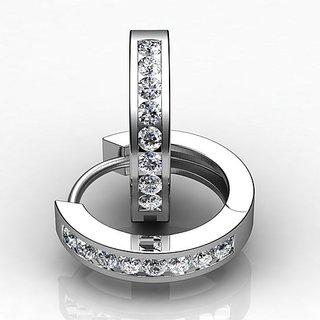 e660ff5ed0ae0 Sheetal Impex Certified Unique Designer 100 Natural Diamonds White Gold  Earring