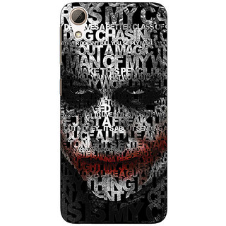 Enhance Your Phone Villain Joker Back Cover Case For HTC Desire 728