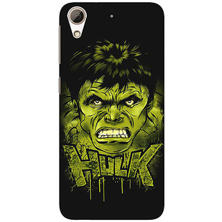 Enhance Your Phone Superheroes Hulk Back Cover Case For HTC Desire 728