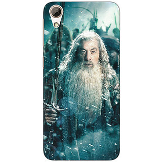 Enhance Your Phone LOTR Hobbit Gandalf Back Cover Case For HTC Desire 728