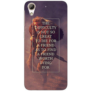 Enhance Your Phone LOTR Hobbit  Back Cover Case For HTC Desire 728