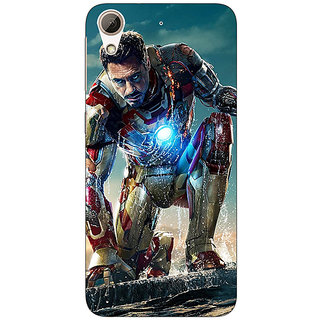 Enhance Your Phone Superheroes Ironman Back Cover Case For HTC Desire 626S