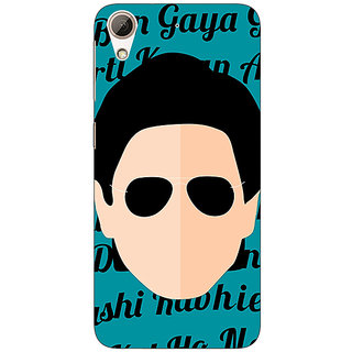Enhance Your Phone Bollywood Superstar Shahrukh Khan Back Cover Case For HTC Desire 626S