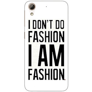 Enhance Your Phone Fashion Quote Back Cover Case For HTC Desire 626S