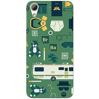 Enhance Your Phone Breaking Bad Back Cover Case For HTC Desire 728