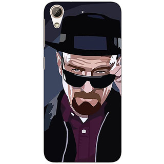 Enhance Your Phone Breaking Bad Heisenberg Back Cover Case For HTC Desire 728