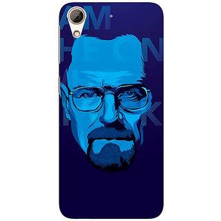 Enhance Your Phone Breaking Bad Heisenberg Back Cover Case For HTC Desire 728