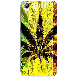Enhance Your Phone Weed Marijuana Back Cover Case For HTC Desire 728