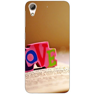 Enhance Your Phone Love  Back Cover Case For HTC Desire 728
