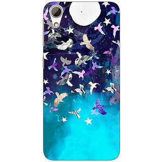 Enhance Your Phone Moonlight Back Cover Case For HTC Desire 728