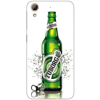 Enhance Your Phone Tuborg Beer Back Cover Case For HTC Desire 626S