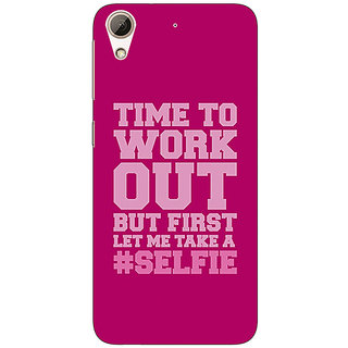 Enhance Your Phone Selfie Quote Back Cover Case For HTC Desire 626S