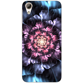 Enhance Your Phone Abstract Flower Pattern Back Cover Case For HTC Desire 626S