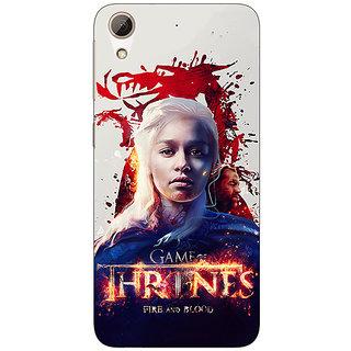 Enhance Your Phone Game Of Thrones GOT Khaleesi Daenerys Targaryen Back Cover Case For HTC Desire 626S