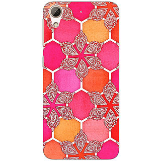 Enhance Your Phone Hot Winter Pattern Back Cover Case For HTC Desire 728