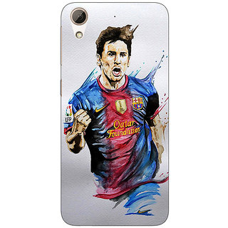 Enhance Your Phone Barcelona Messi Back Cover Case For HTC Desire 728