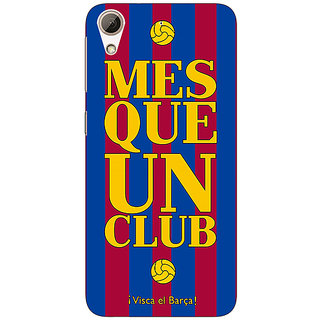 Enhance Your Phone Barcelona Back Cover Case For HTC Desire 728