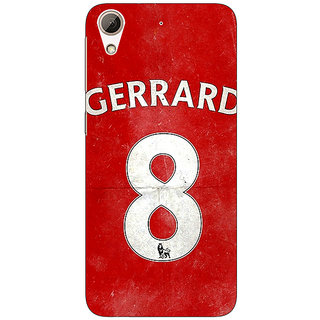 Enhance Your Phone Liverpool Gerrard Back Cover Case For HTC Desire 728