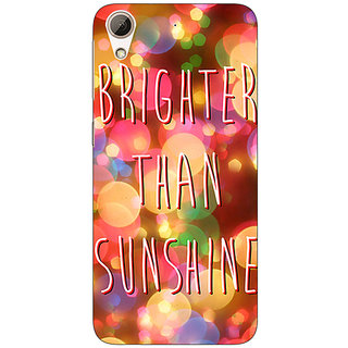 Enhance Your Phone Quote Back Cover Case For HTC Desire 728