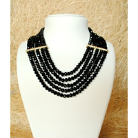 Dajwa Fashion and trendy Jewellery Black color